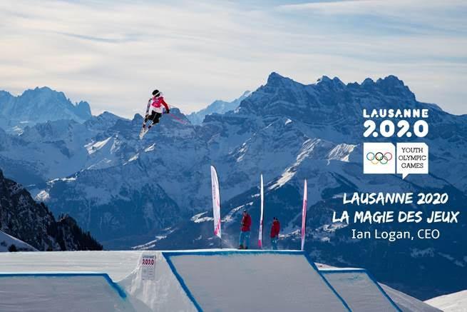 JOJ Lausanne 2020, La Magie des Jeux. Ian Logan, CEO